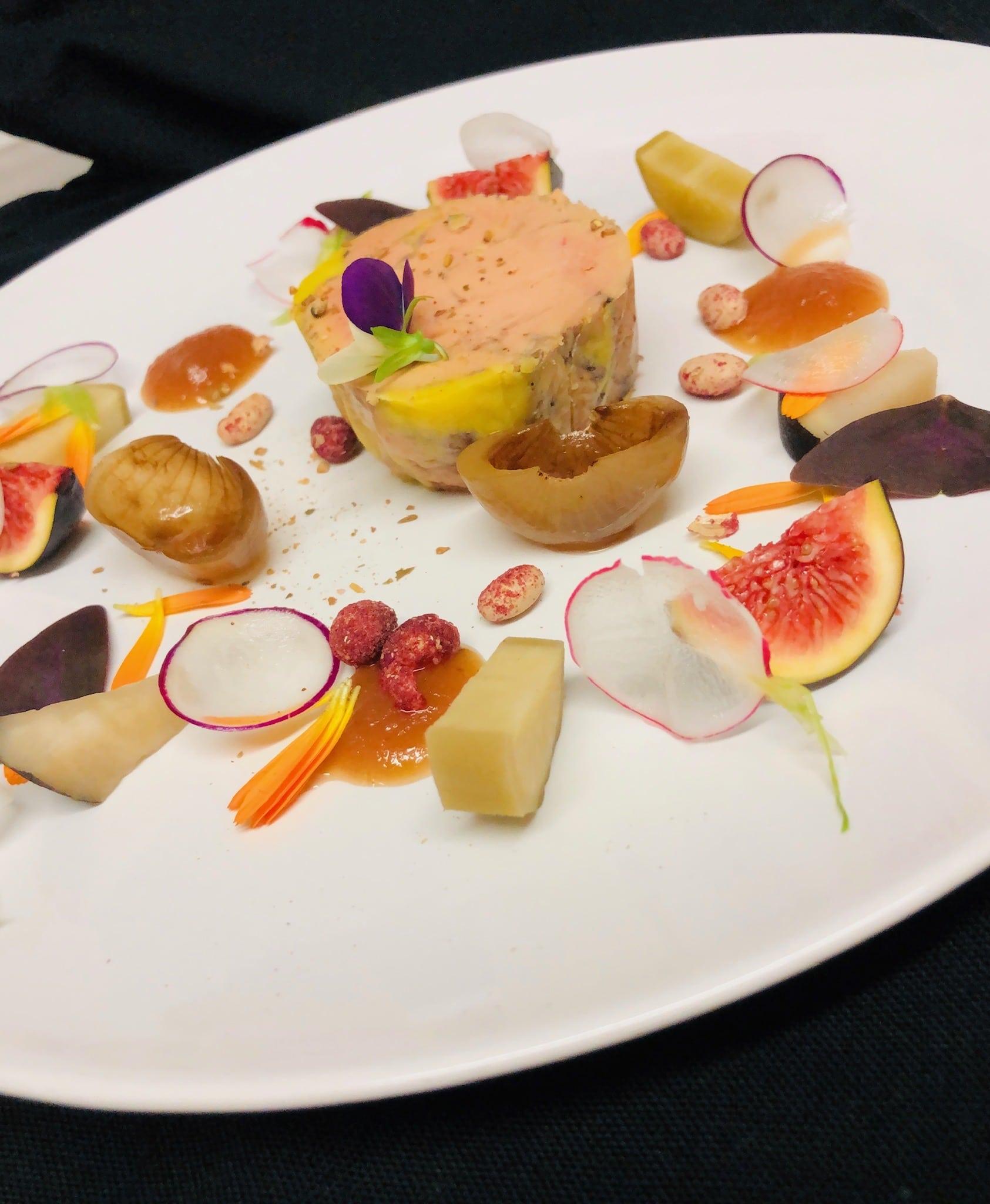 Foie gras de Limagne mi-cuit au muscat de rivesaltes